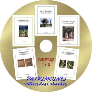 Projet étiquette CD cahiers1a
