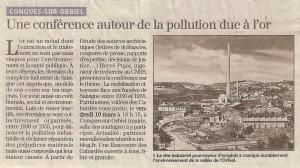 Conférence Hervé Pujol - Salsigne