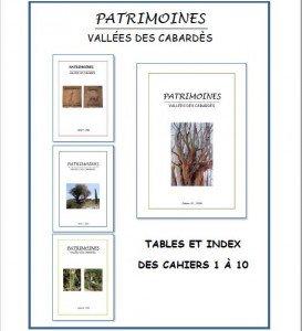 Couverture tables et index-Une