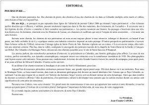 Editorial Cahier 10 (A3)