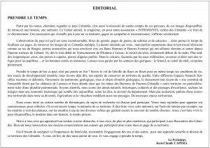 Editorial Cahier 5 (A3)