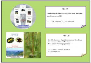 CD- Cahiers 1 à 6 + Cabrespine